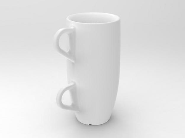 one cup a day | Day 30: Double Espresso Cup 3d printed double espresso