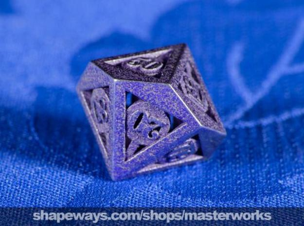 Deathly Hallows d00 3d printed Stainless Steel