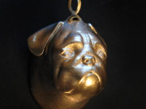 Pug Ornament 3d printed