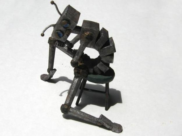 Depressed Robot V2 3d printed Better photograph of the painted WSF print from the front.