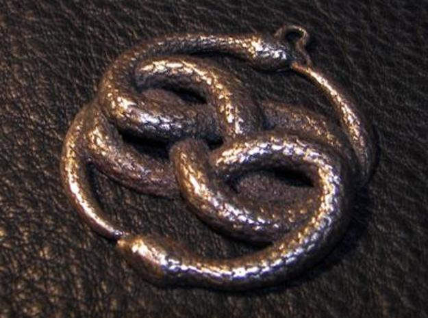 THE NEVERENDING STORY THE AURYN MEDALLION PENDANT 3d printed