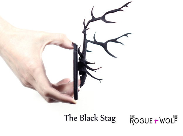 The Stag Mini Faux Taxidermy 3d printed