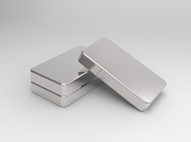 The Silver Bar II 3d printed