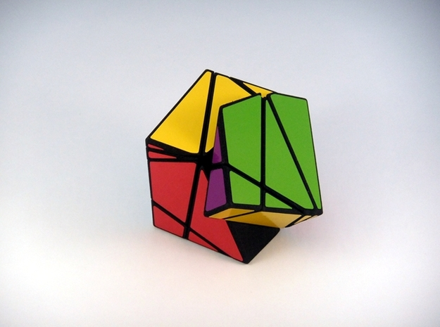 Insanity Cubed Puzzle 3d printed One Turn