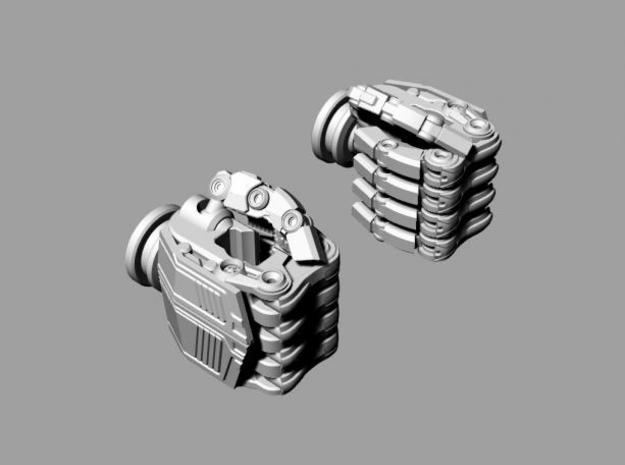 ROTF Leader Optimus Prime hands (movie acc.) 3d printed