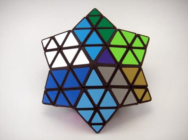 Star of David Puzzle 3d printed Deep Slice Turn
