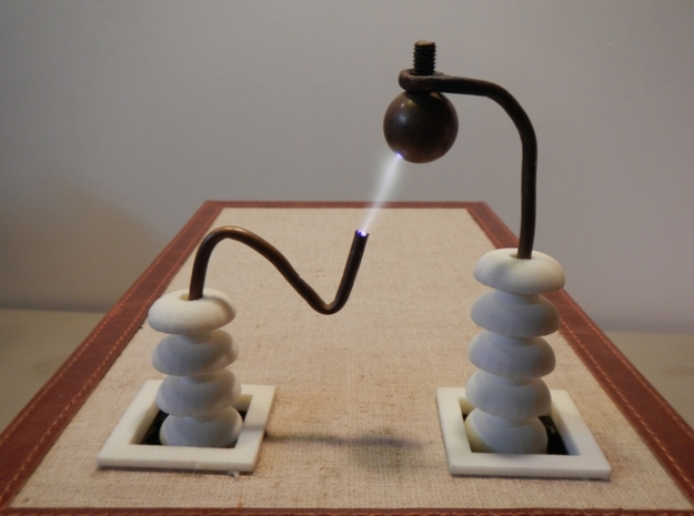 High Voltage Insulator 3d printed High Voltage Terminals