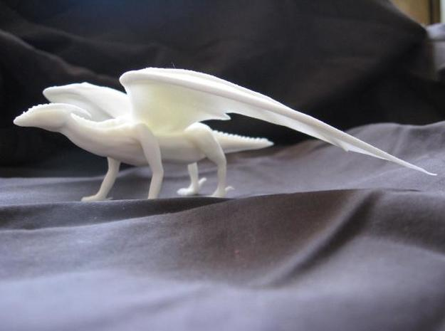 Noble Dragon 3d printed