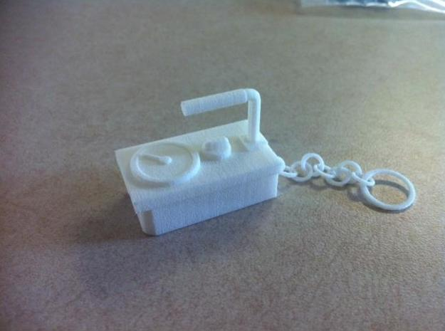 Geiger Counter Key-chain 3d printed