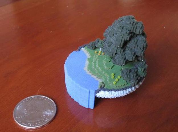 Small World in a Bowl 3d printed scale