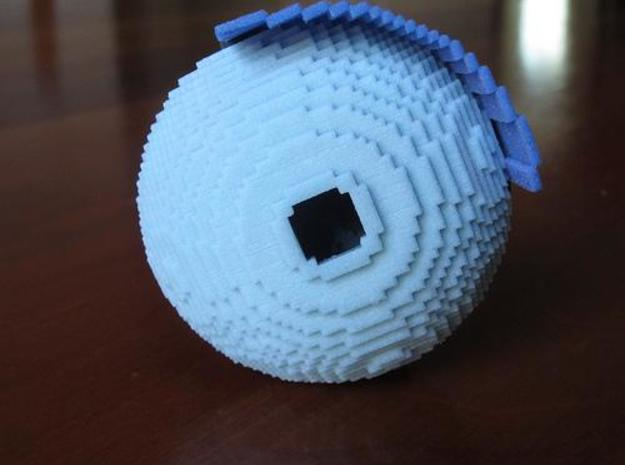 Small World in a Bowl 3d printed hollow bottom