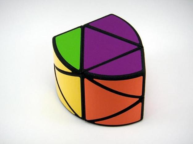 RotoPrism 2 Puzzle 3d printed 180 Degree Turn