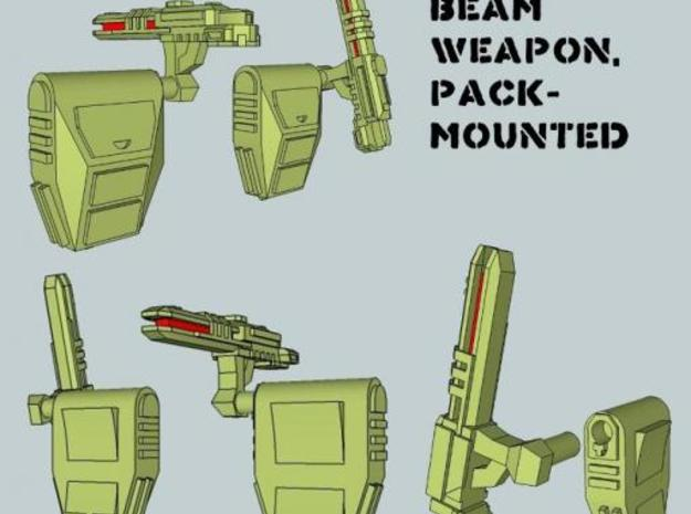 15mm Pack-Mounted Weapons 3d printed