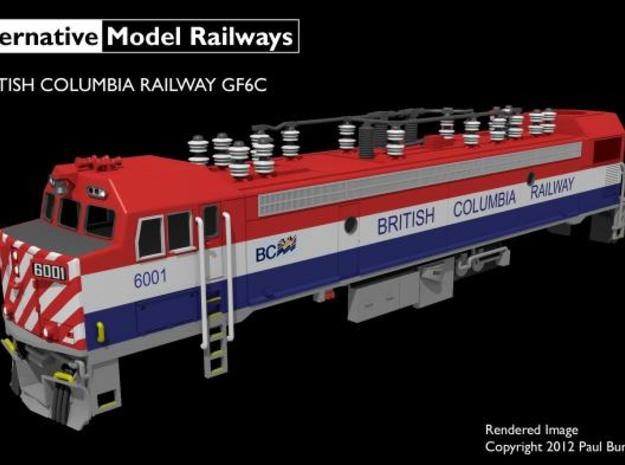 NGF6C1 N scale British Columbia Railway GF6C 3d printed