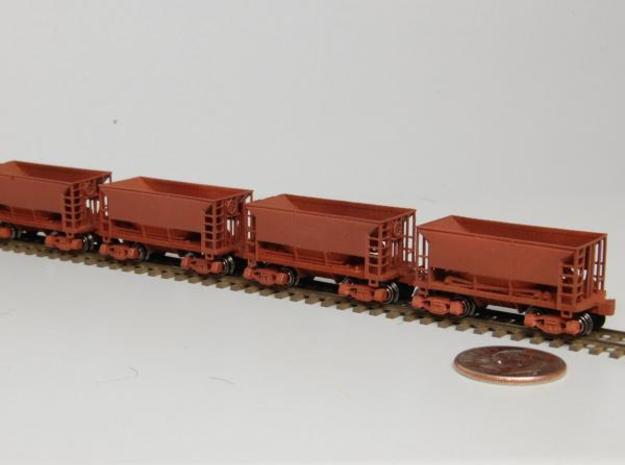 Z 70 ton ore jenny, Six Pack w/couplers 3d printed