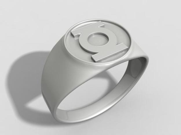 Green Lantern ring US11 3d printed