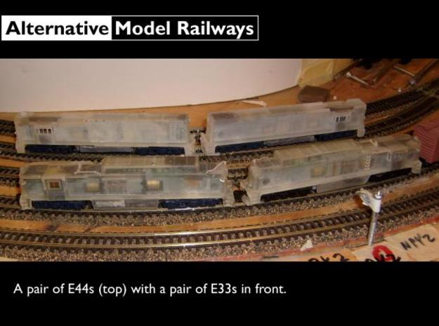 NE4401 N scale E44 loco - 4400-05 as built 3d printed