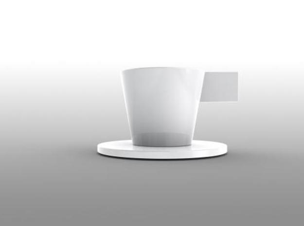 Espresso Cup Saucer ARCHETYPE 3d printed