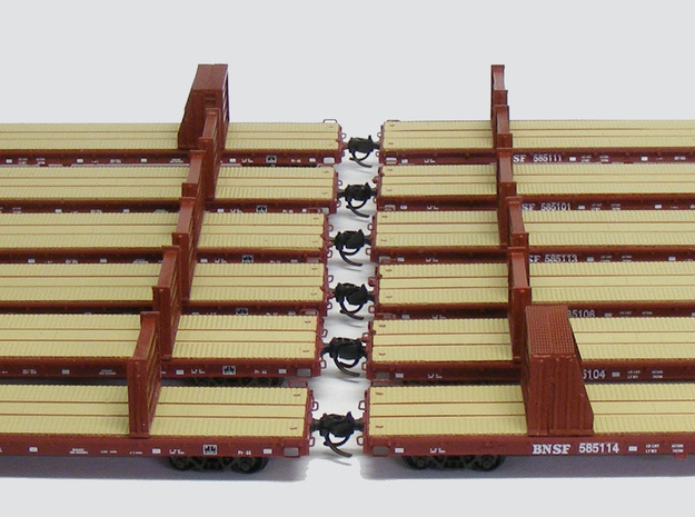 MOW Rail Frames - Nscale 3d printed Paint and Photo by Jeff King