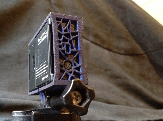Gopro ICY case 3d printed External screens and batteries can be switched without removing the case!