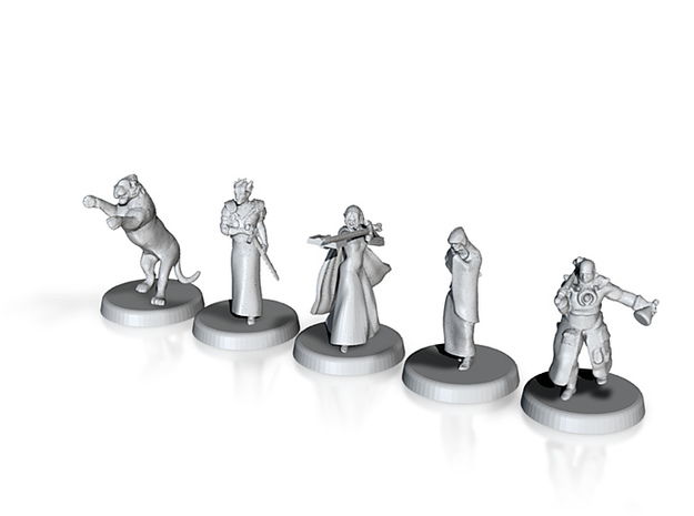 D&D Minis (Set two) 3d printed