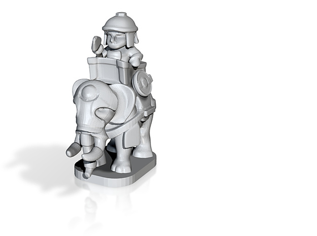 war elephant pawn 3d printed