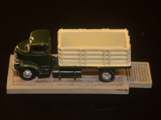 N-Scale Grain Scales 3d printed Painted & Detailed Production Sample w/ GHQ Grain Truck (NOT Included)
