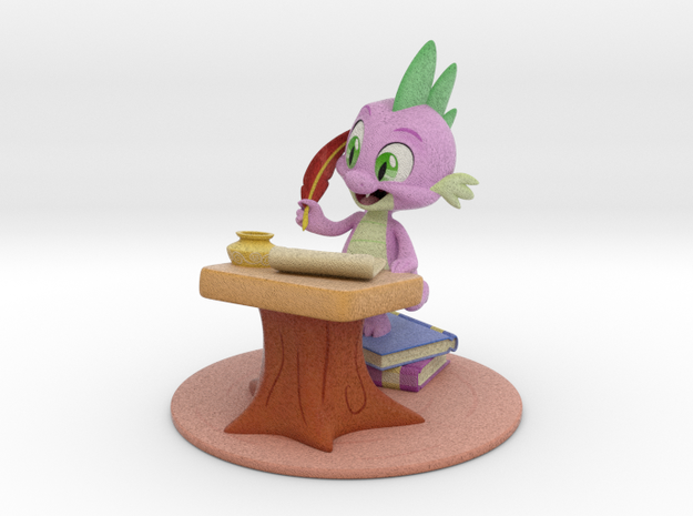 MyLittlePony - Spike, Take a Letter (≈130mm tall) 3d printed