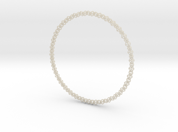 Octahedralink Necklace 3d printed