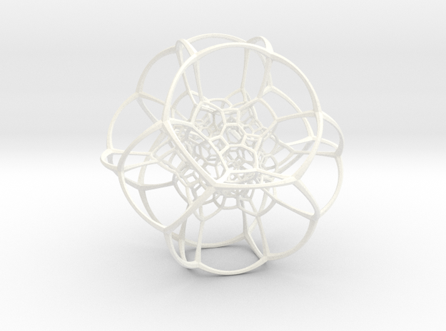 Inverted Truncated Octahedral Lattice 3d printed