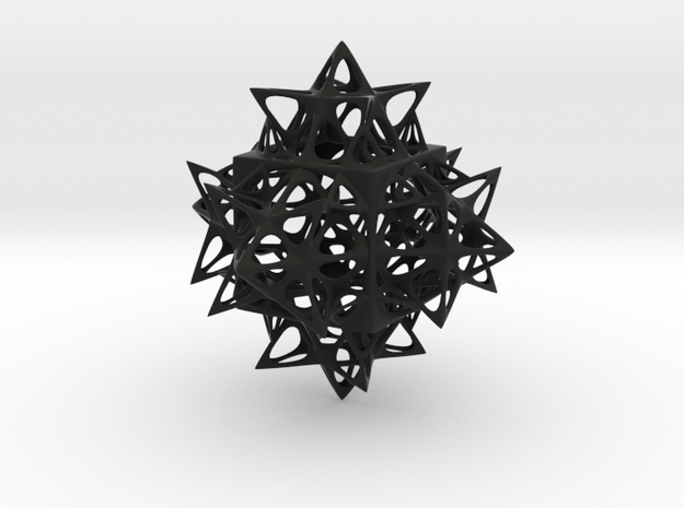Fractal Cube 100mm 3d printed