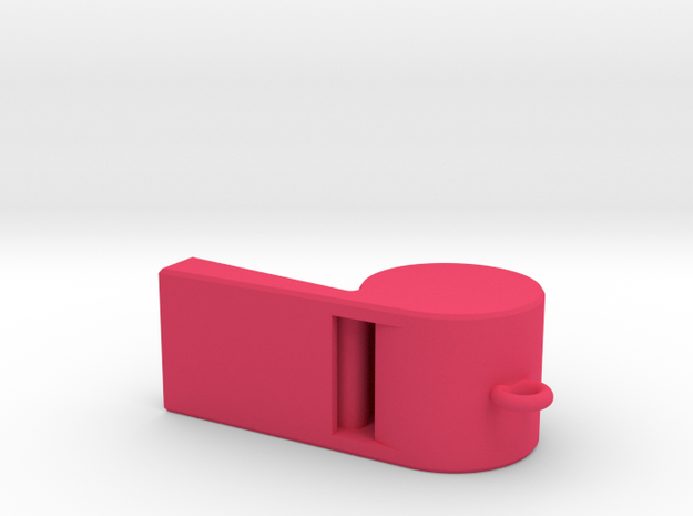 Whistle Pendant large 3d printed