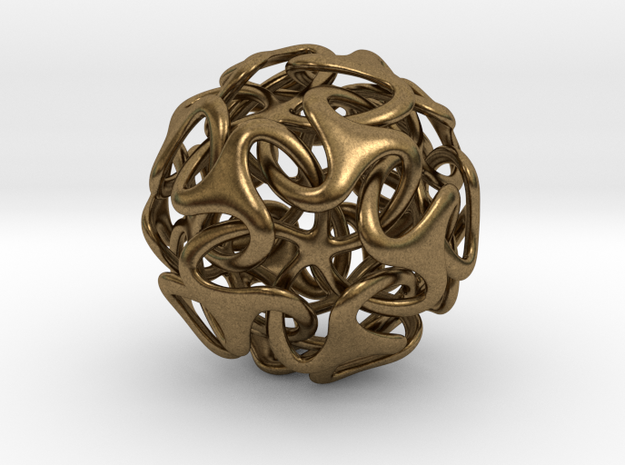 Medusa Ball 38mm 3d printed