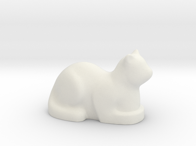 Stylized Cat 3d printed