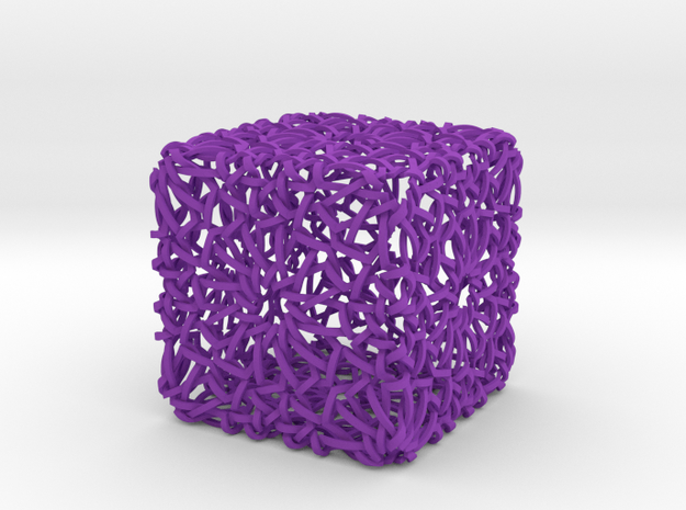 Islamic Woven Cube 3d printed