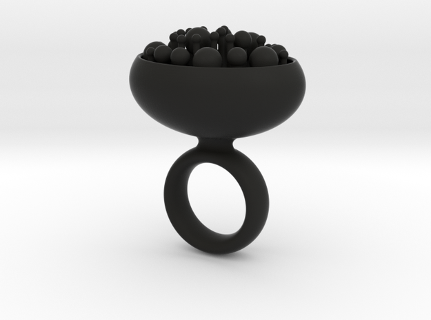 Bunch ring - size 7/17mm 3d printed