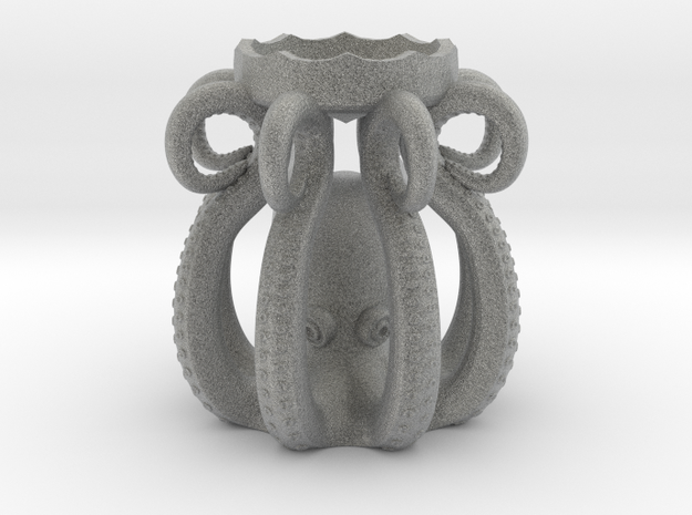 Plastic Octopus Candle Holder 3d printed