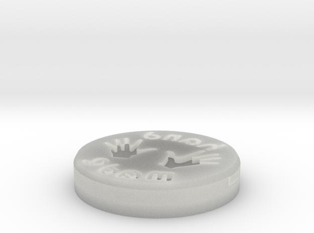 """Croxetti Pasta Stamps """"Hand made"""" 3d printed"""