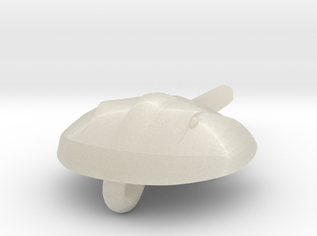 Horseshoecrab Necklace 3d printed