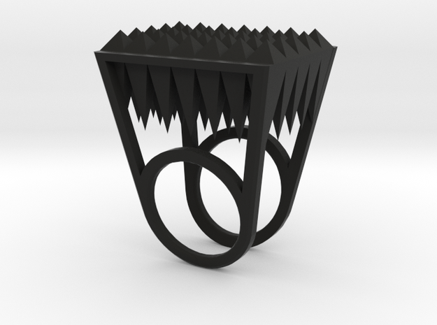 RockStone - ring size 9 3d printed