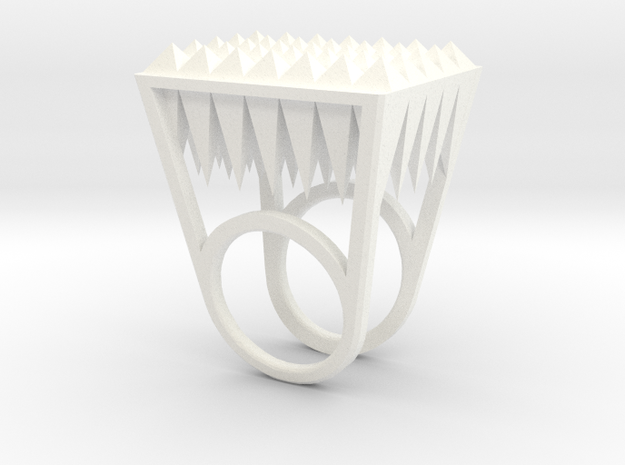 RockStone - ring size 6 3d printed
