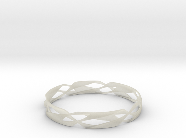 Stripes Bangle 2 3d printed