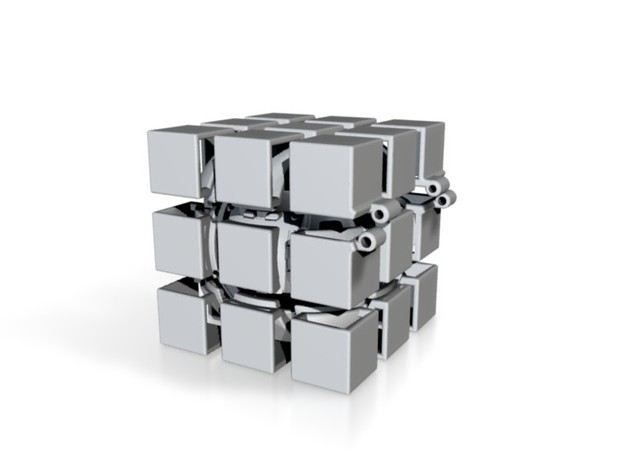 Hinged Gift Cube 3d printed