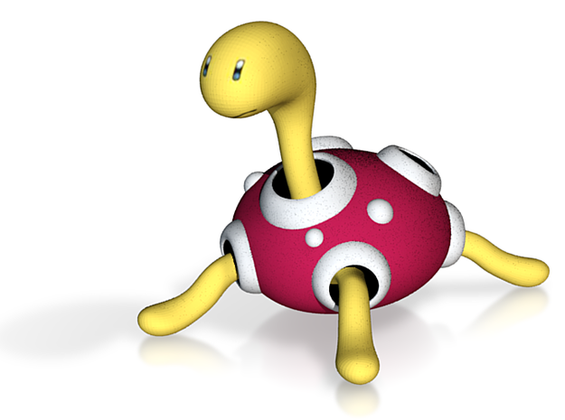 Shuckle - Pokemon - 60mm 3d printed