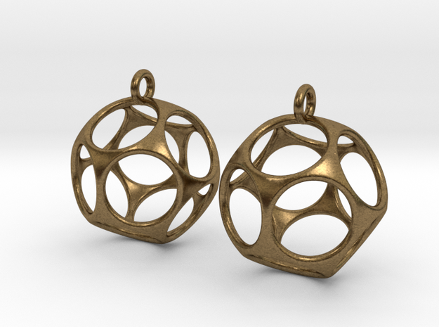 New Dod Earrings 3d printed