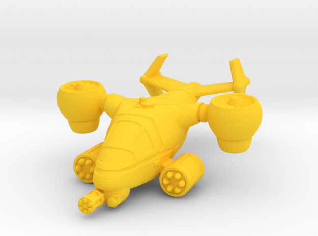 Terran Ground Attack VTOL 3d printed