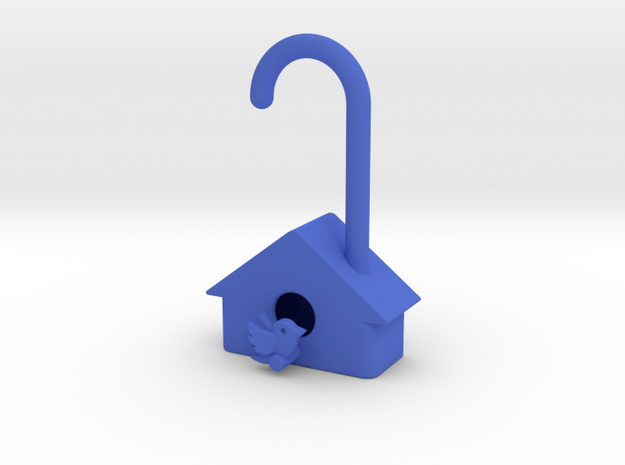 Birdhouse - very small tree decoration 3d printed