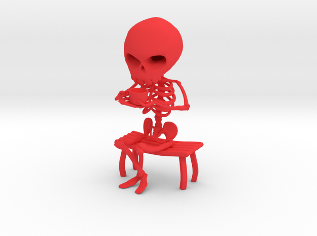 Coffee Drinker 3d printed