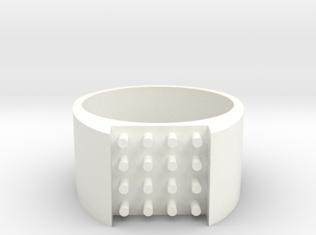 16-bit ring (US8/⌀18.2mm) 3d printed