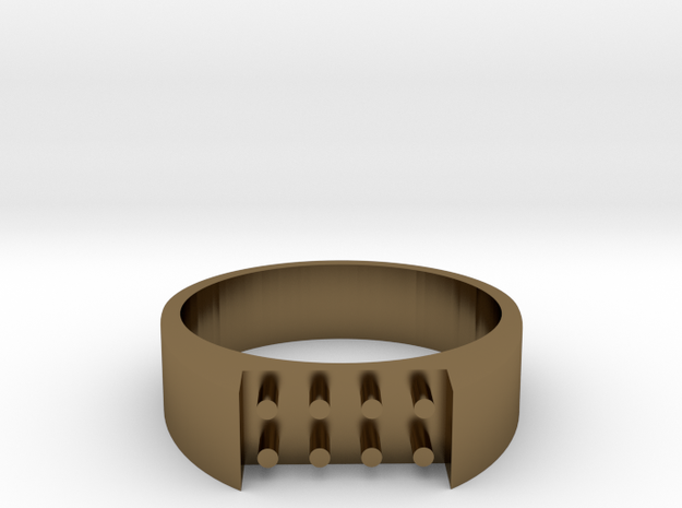 8-bit ring (US8 /⌀18.2mm) 3d printed